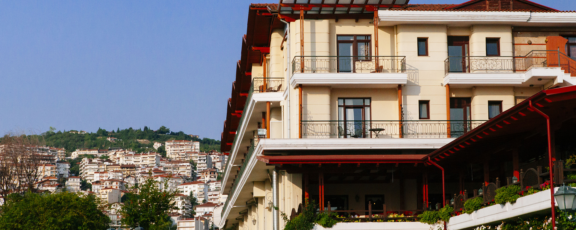 Accommodation in the city of Veria